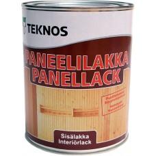 Teknos Paneelilakka - водный лак для дерева - 0,9л (полуматовый)