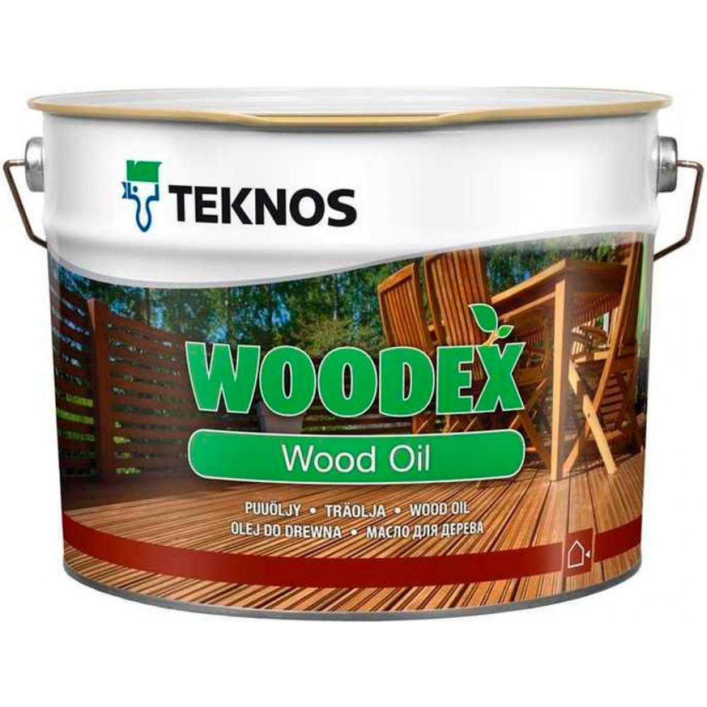 Teknos Woodex Wood oil - масло для дерева - 9л