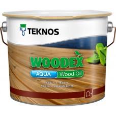 Teknos Woodex Aqua Wood oil - масло-пропитка для дерева - 2,7л