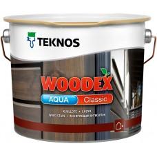 Teknos Woodex Aqua Classic - лазурь-антисептик для дерева - 9л