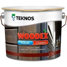 Teknos Woodex Aqua Classic - лазурь-антисептик для дерева - 0,9л