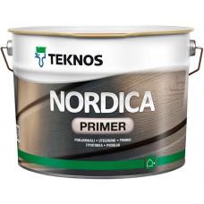 Teknos Nordica Primer - алкидная краска для дерева - 9,0л