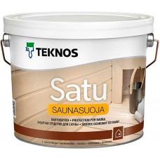 Teknos Satu Saunasuoja - защитное средство для дерева - 2,7л