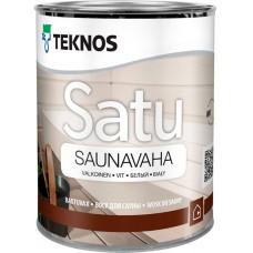 Teknos Satu Saunavaha - воск для дерева - 0,45л