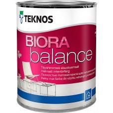 Teknos Biora Balance - краска для стен и потолков BASE1 - 0,9л.