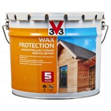 V33 WAX PROTECTION - антисептик для дерева