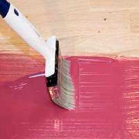 Окрашивание деревянных полов органоразбавляемой краской Тиккурила